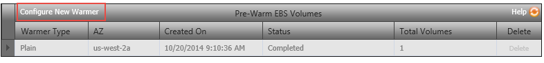EBS Pre-Wariming