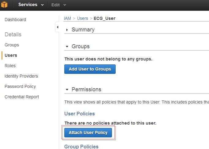 IAM User Access Keys